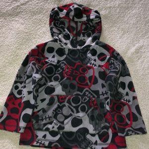 Boy's hooded fleece